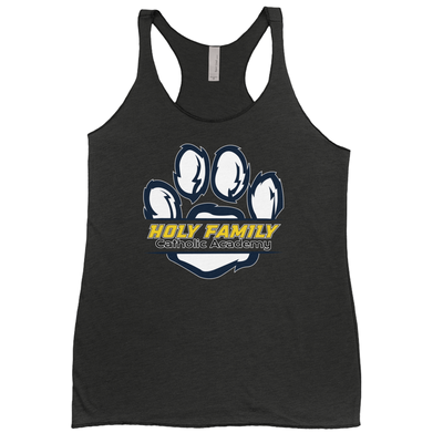"Holy Family Catholic Academy (HFCA) - ""Holy Family Wildcats"" - Women's Racerback Tank Top"