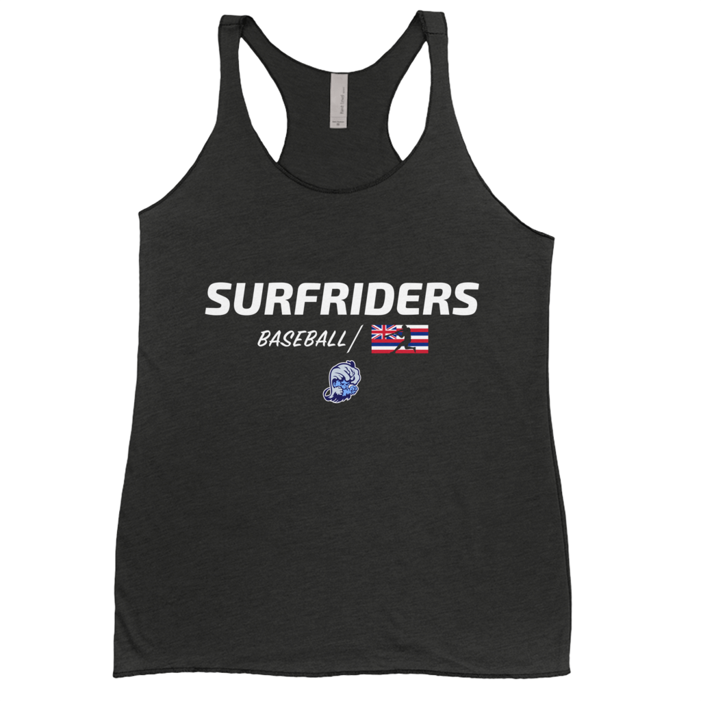 Kailua - Surfriders Baseball - Women's Racerback Tank Top