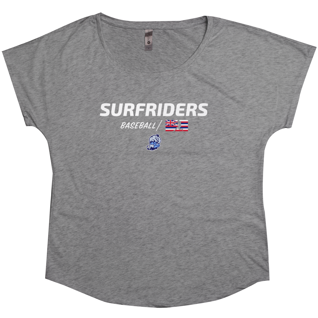 Kailua - Surfriders Baseball - Tri-Blend Women's T-Shirt