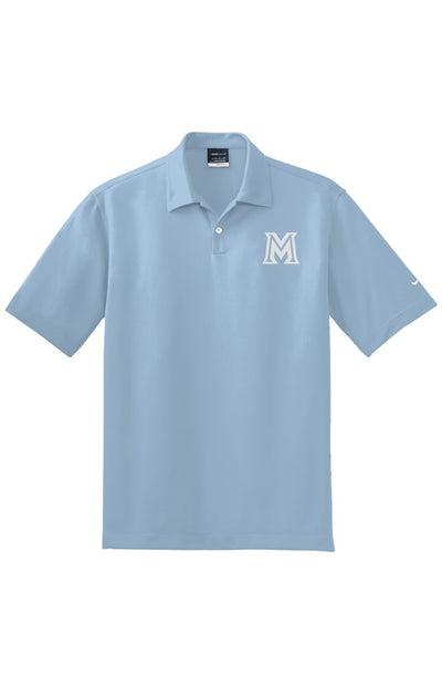 Maui Sabers - Embroidered NIKE Golf Polo - Cirrus Blue