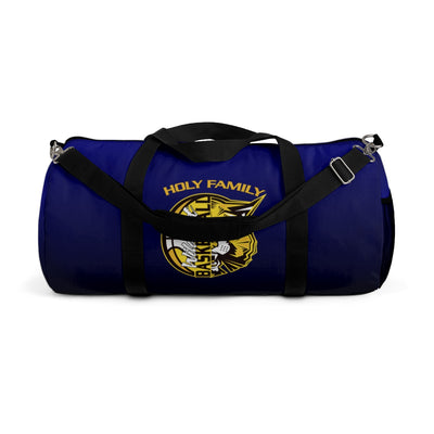 Holy Family Catholic Academy (HFCA) - D2 Basketball - PERSONALIZED Duffel Bag