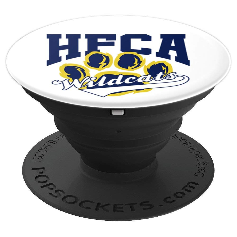 Holy Family Catholic Academy (HFCA) - Wildcats - PopSockets Grip and Stand for Phones and Tablets