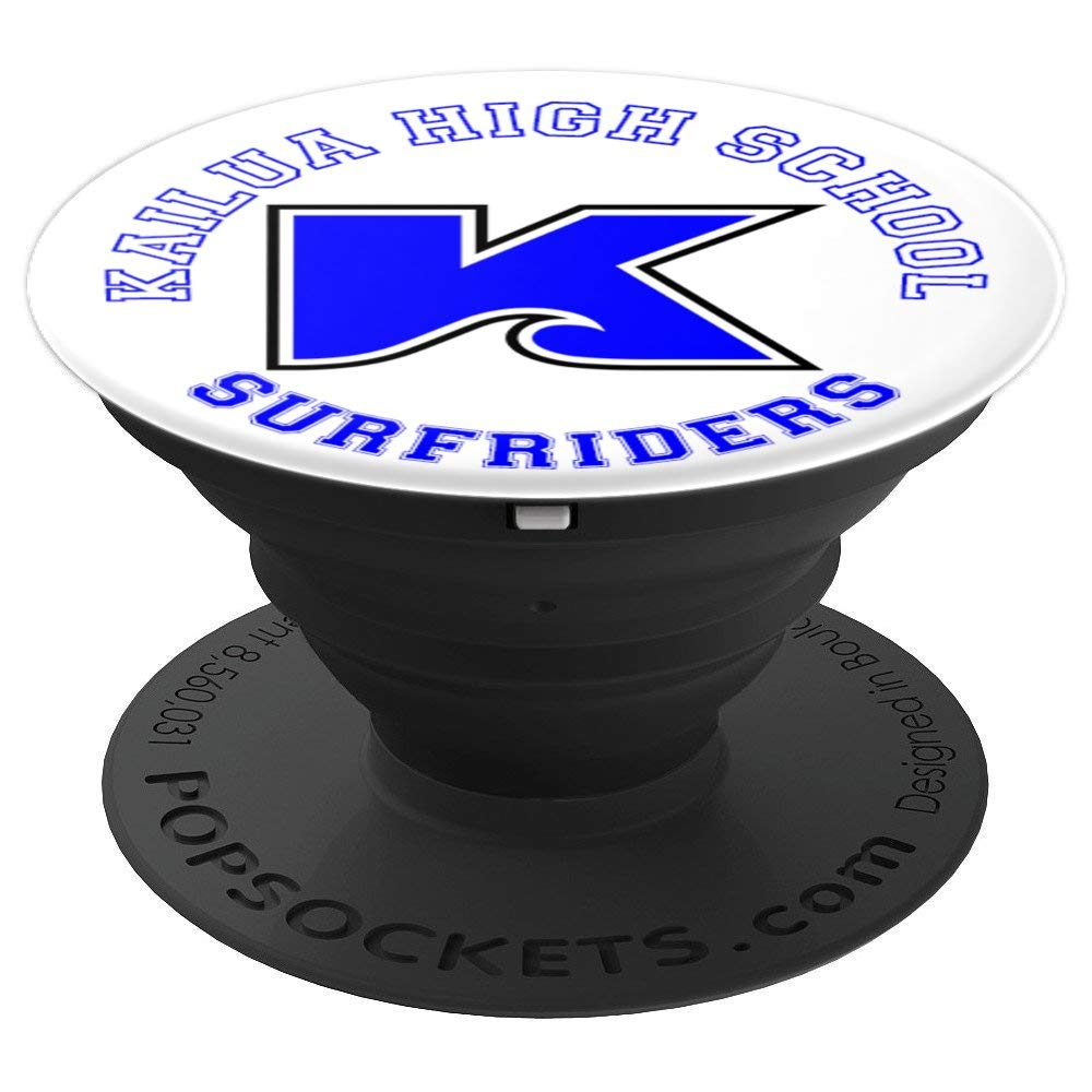 Kailua High School - Surfriders - Kailua, Hawaii - PopSockets Grip and Stand for Phones and Tablets