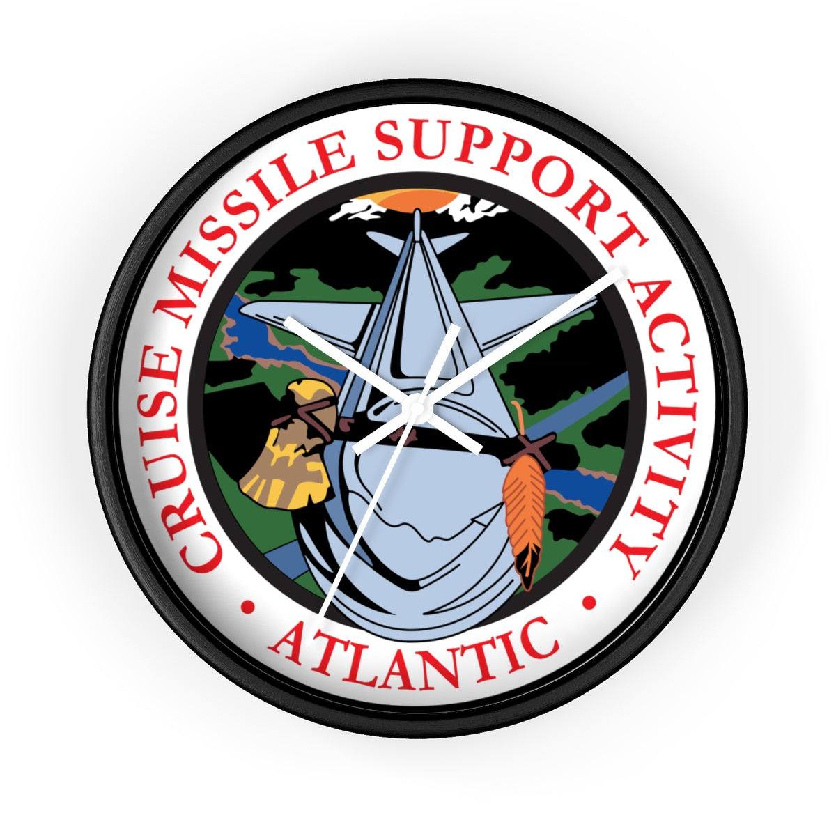 CMSA Atlantic - Wall clock