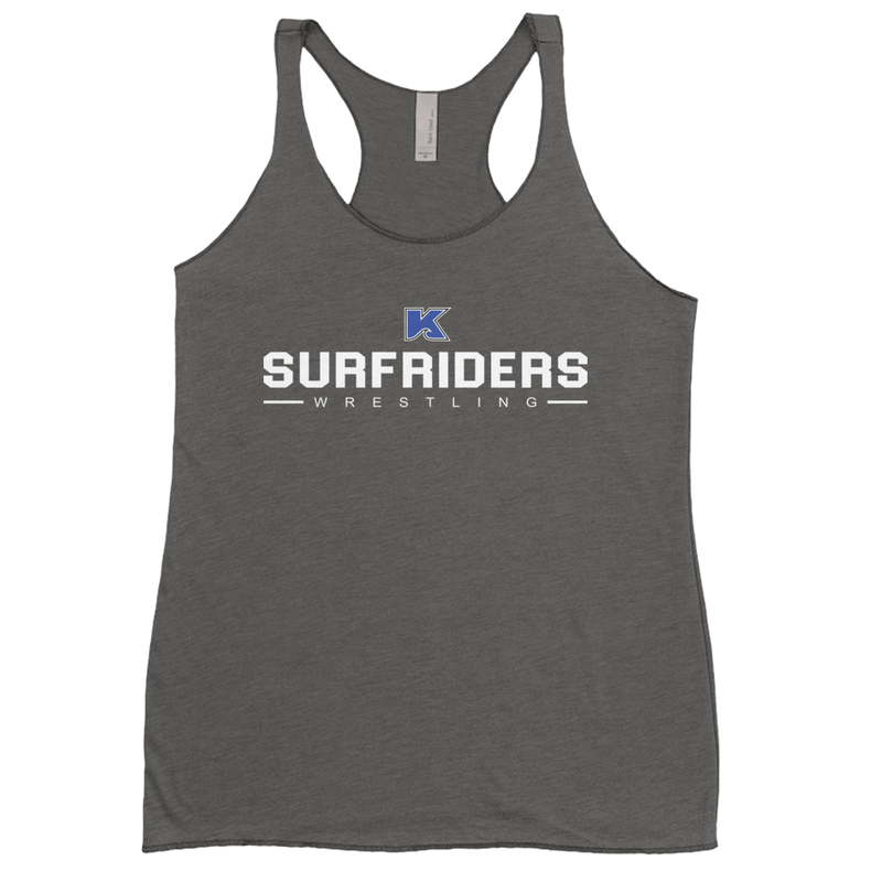 Kailua Surfriders - Wrestling - Women's Racerback Tank Top