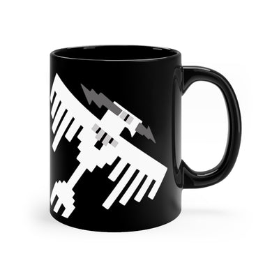 34th Bomb Squadron - Thunderbirds - Black Mug 11oz