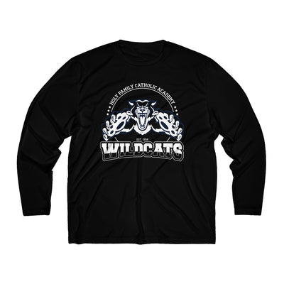 "Holy Family Catholic Academy (HFCA) - ""Pounce"" - Men's Long Sleeve DriFit Tee"