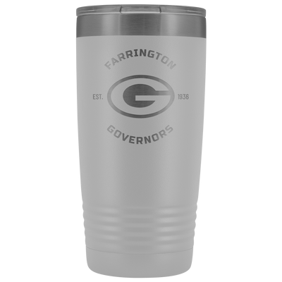 Farrington Governors - 20oz Laser Etched Vacuum Tumbler