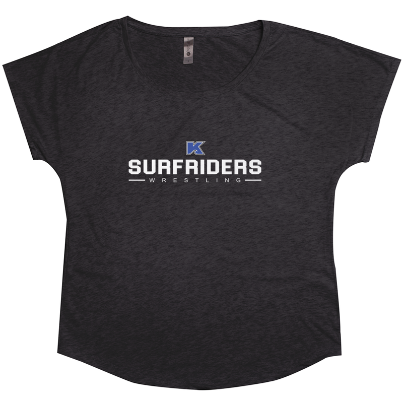Kailua Surfriders - Wrestling - Tri-Blend Women's T-Shirt