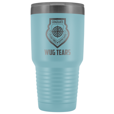 "USAF Weapons School - ""WUG Tears"" - 30oz Laser Etched Tumbler"
