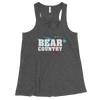 "Baldwin Bears - ""Bear Country"" - Women's Flowy Racerback Tank"