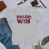 "Baldwin High - Bears - ""Clawed Baldwin"" Short-Sleeve Unisex T-Shirt"