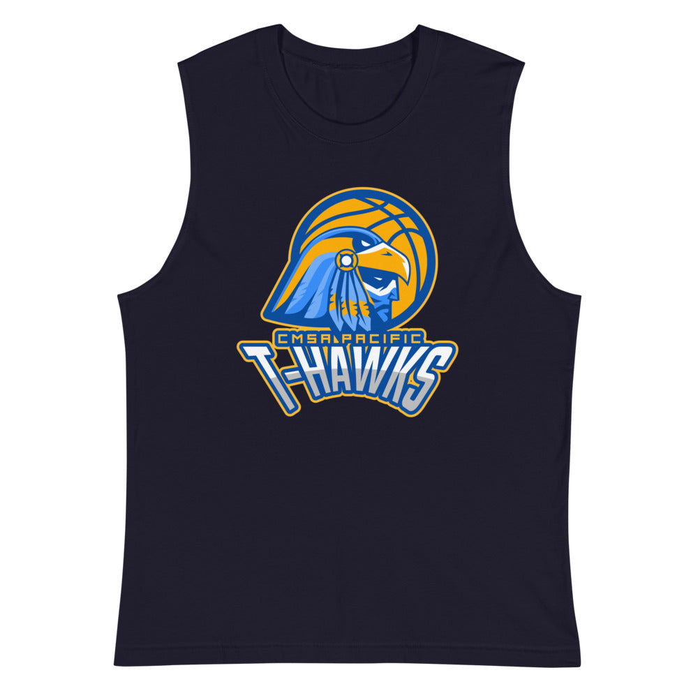 "CMSA Pacific - ""T-Hawks Basketball"" - Athletic Shirt"