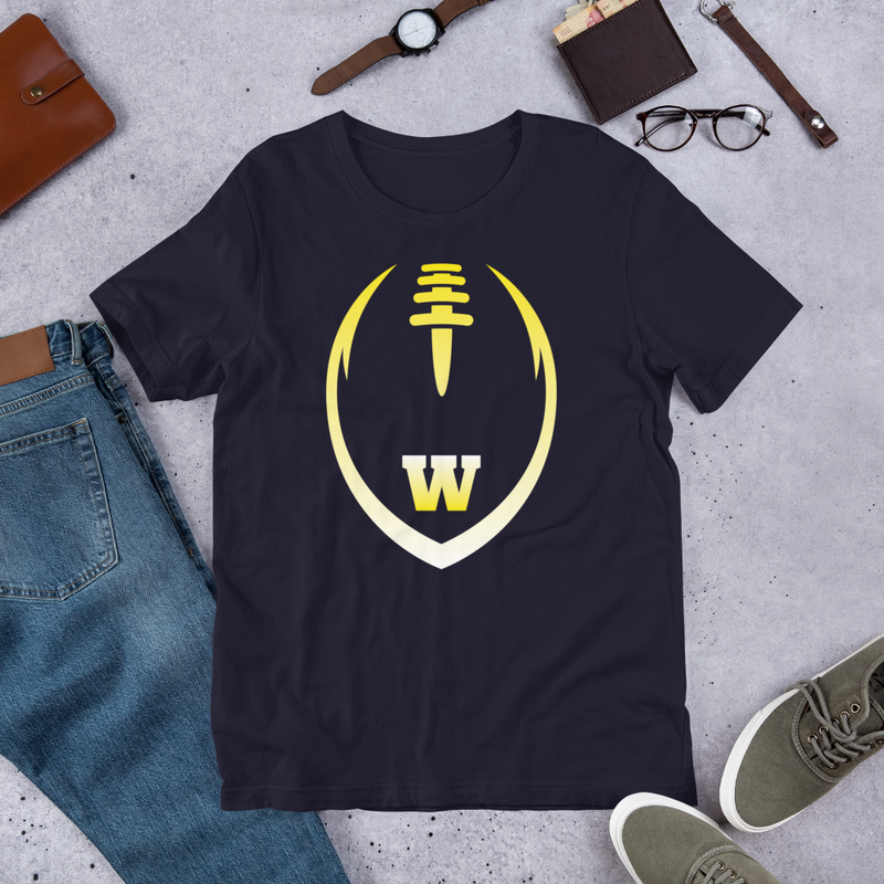 Waipahu High - Marauders - Football T-Shirt