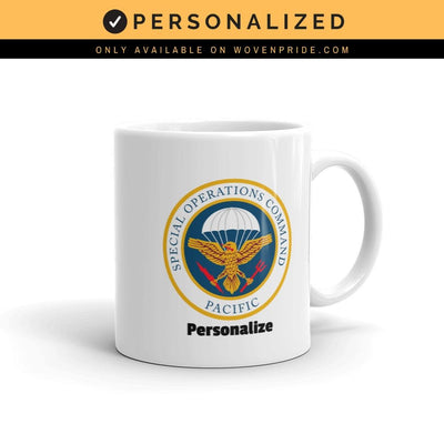 Special Operations Command Pacific (SOCPAC) - Mug - Personalized