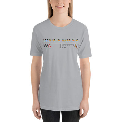 "77th Weapons Squadron - War Eagles - ""Stripes"" Short-Sleeve T-Shirt"