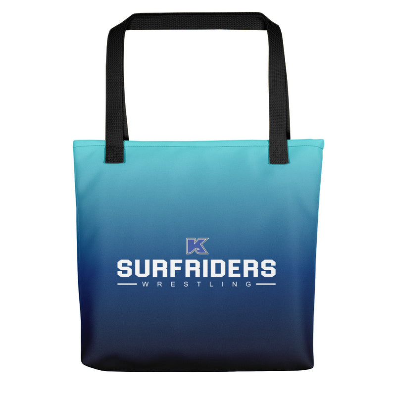 Kailua Surfriders - Wrestling - PERSONALIZED Tote bag