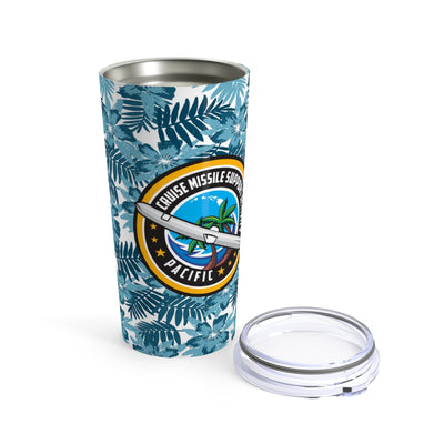 Cruise Missile Support Activity - Pacific (CMSA PAC) - Floral Tumbler 20oz