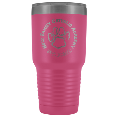 Holy Family Catholic Academy (HFCA) - 30-oz Laser Etched Vacuum Tumbler