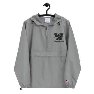 Waianae Seariders - Embroidered Champion Packable Jacket