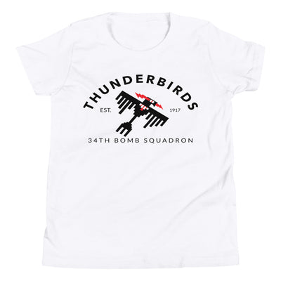 "34th Bomb Squadron - ""Industrial"" - Youth T-Shirt"