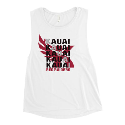 Kauai Red Raiders - Ladies' Muscle Tank