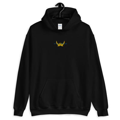 Hilo High - Vikings - Embroidered Unisex Hoodie