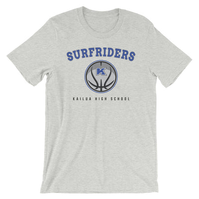 Surfriders Basketball - Kailua High - Short-Sleeve Unisex T-Shirt