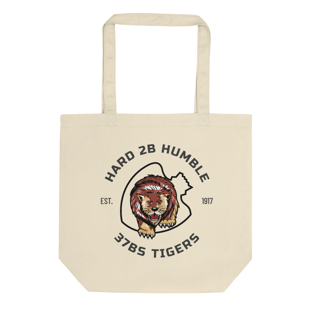 "37th Bomb Squadron - Tigers - ""Hard to Be Humble"" Eco Tote Bag"