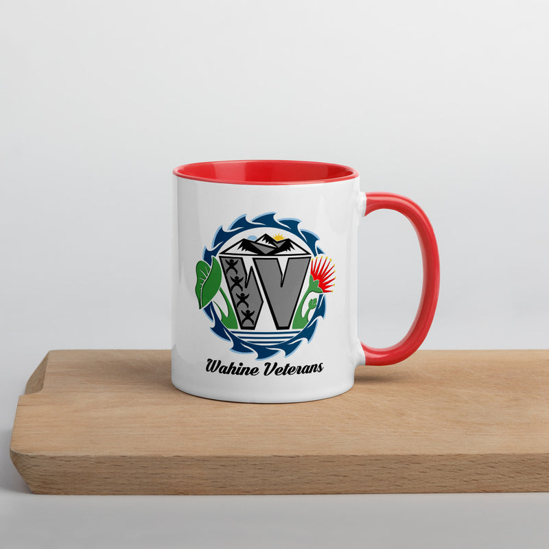 Wahine Veterans - Colored Coffee Mug