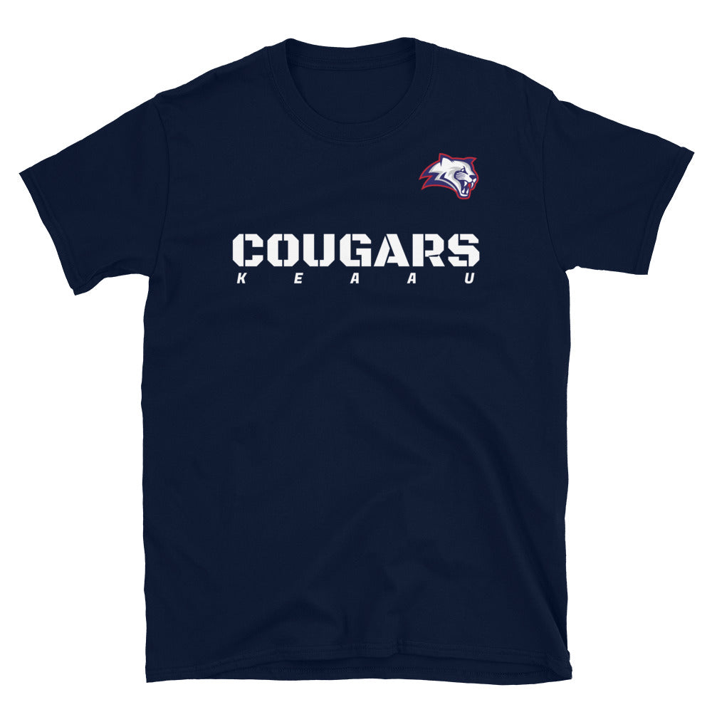 Kea'au Cougars - Booster 2 - Short-Sleeve T-Shirt
