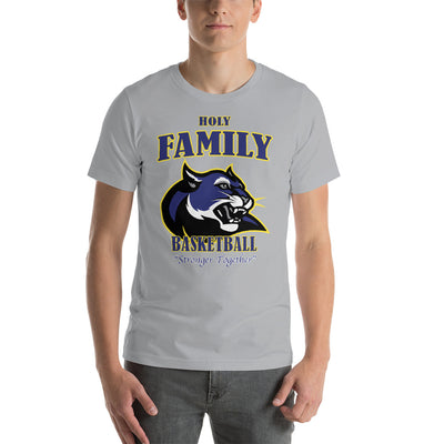 Holy Family Catholic Academy (HFCA) - 2019 Premium Basketball Booster T-Shirt