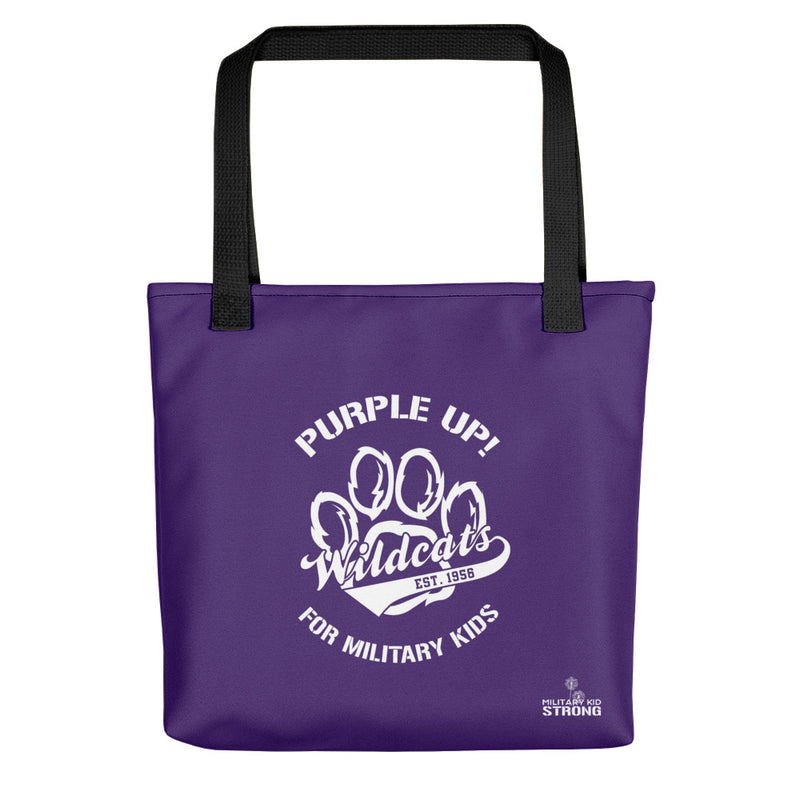 "Holy Family Catholic Academy - ""PURPLE UP!"" - Tote bag"