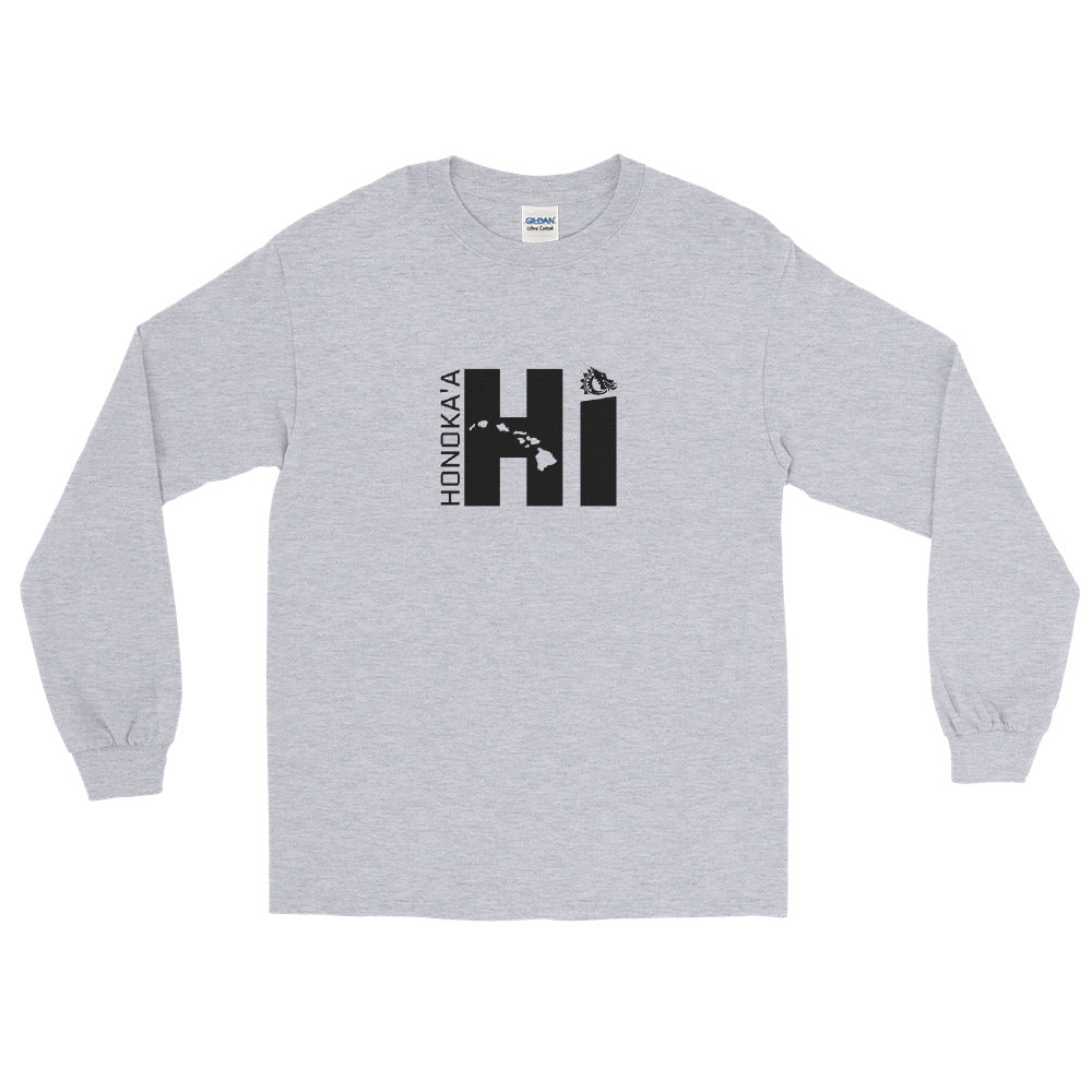 "Honoka'a Dragons - ""Honoka'a HI"" - Men's Long Sleeve Shirt"