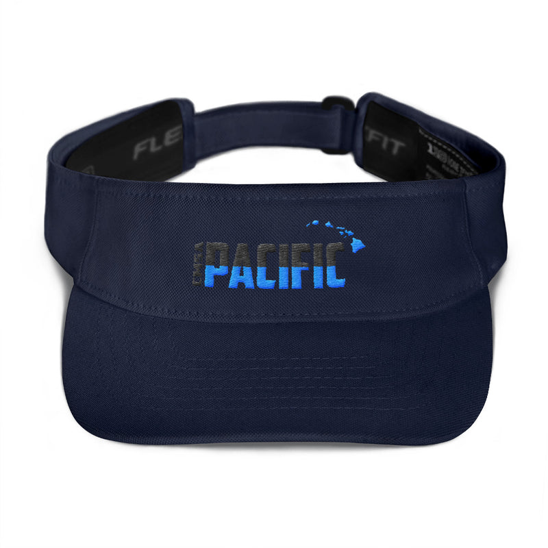 "CMSA Pacific - Embroidered ""Half-Half"" Visor"