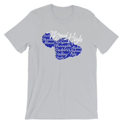 Maui High School - Sabers - Short-Sleeve Unisex T-Shirt