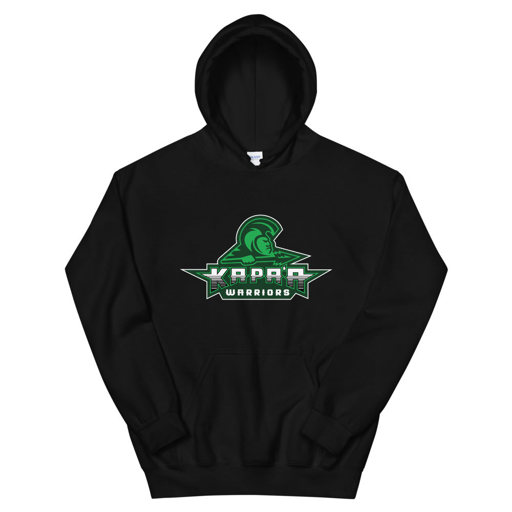 "Kapa'a - ""Warriors Logo"" - Hooded Sweatshirt"