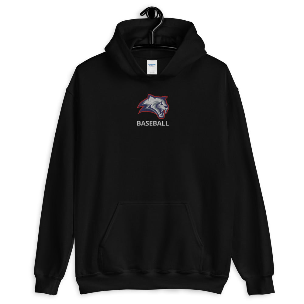 Kea'au Cougars - Baseball - Embroidered Hoodie