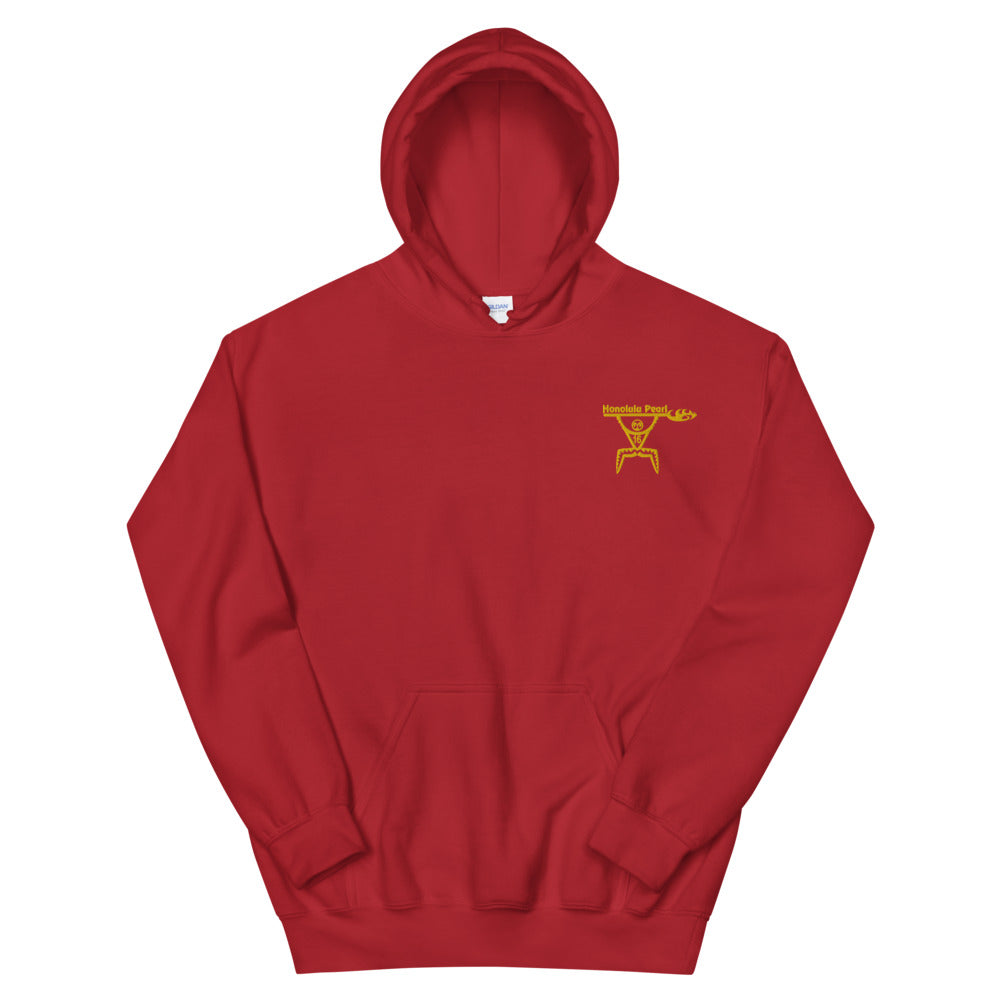 Honolulu Pearl Canoe Club - Embroidered Hoodie