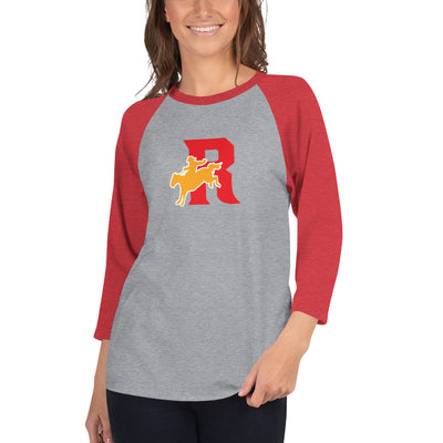 Roosevelt Roughriders - 3/4 Sleeve Raglan Shirt