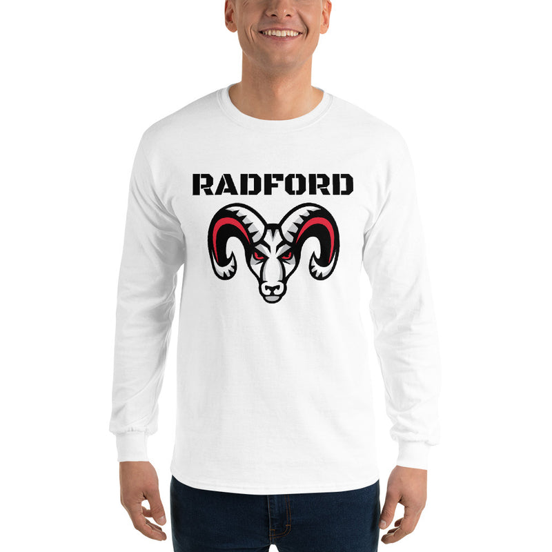 Radford Rams - Men's Booster Long Sleeve Shirt