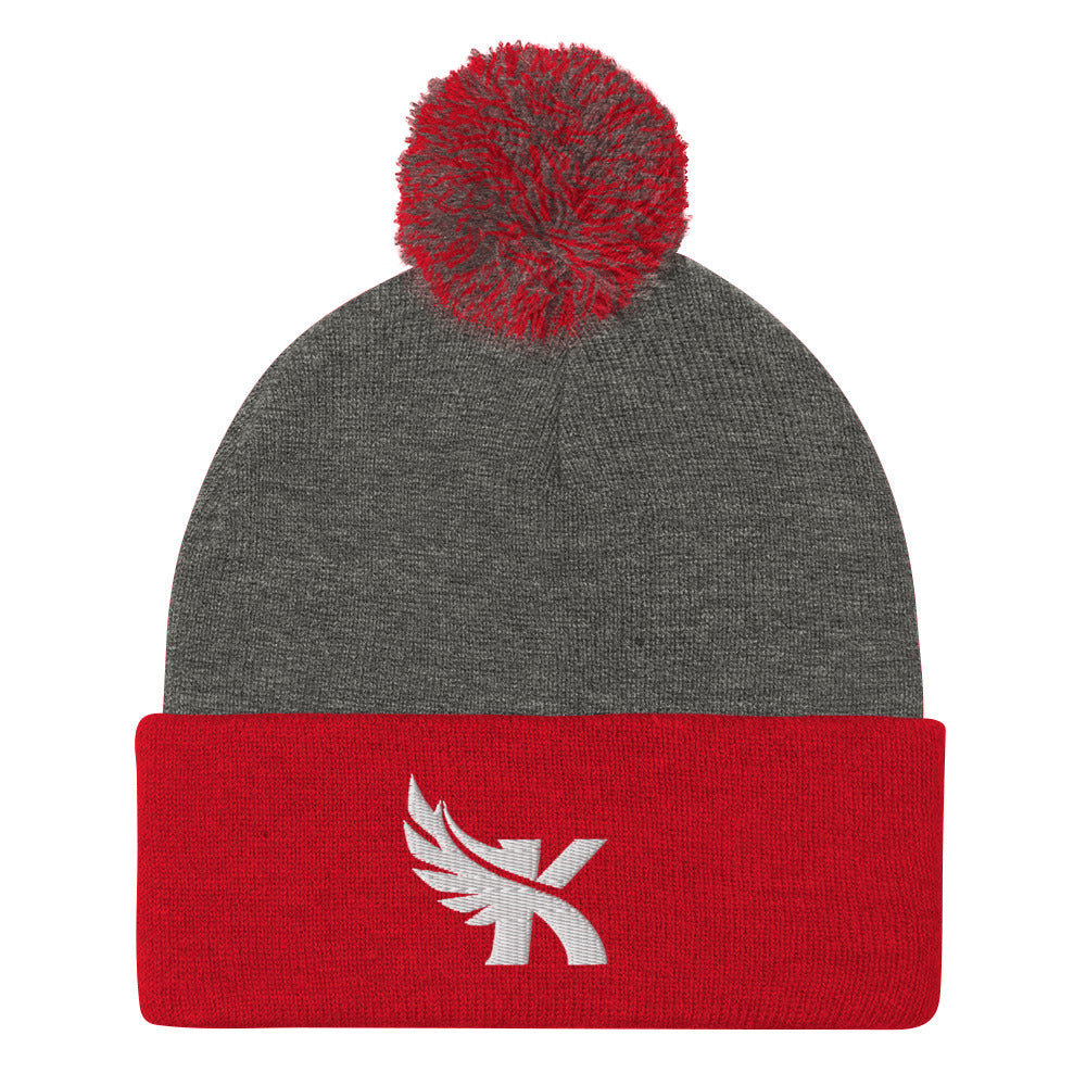 Kauai Red Raiders - Pom-Pom Beanie