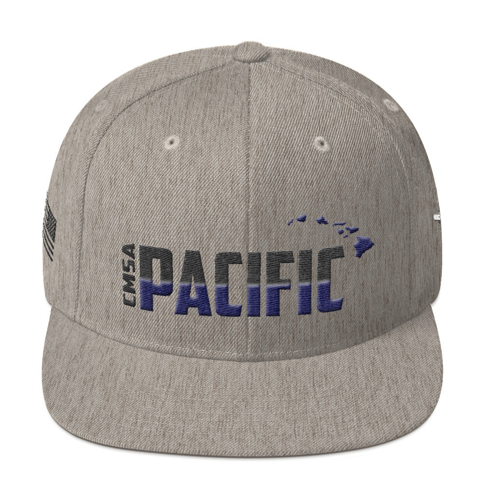 Cruise Missile Support Activity - Pacific, Wool Snapback (Navy/Black Embroidery)
