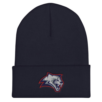 Kea'au Cougars - Embroidered Cuffed Beanie