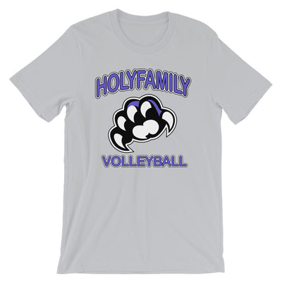 HOLY FAMILY CATHOLIC ACADEMY (HFCA) - 2019 PREMIUM BOYS VOLLEYBALL BOOSTER T-SHIRT