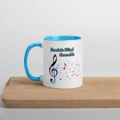 Honolulu Wind Ensemble - Color Splashed Coffee Mug