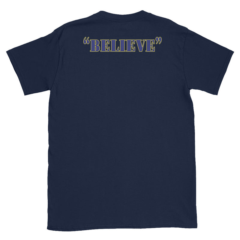 Holy Family Catholic Academy (HFCA) - 2019 Basketball Booster T-Shirt