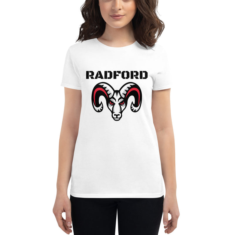 Radford Rams - Women's Short Sleeve Booster T-Shirt