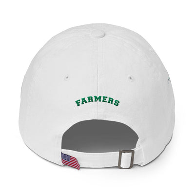 Molokai High - Farmers - Embroidered Cotton Dad Cap