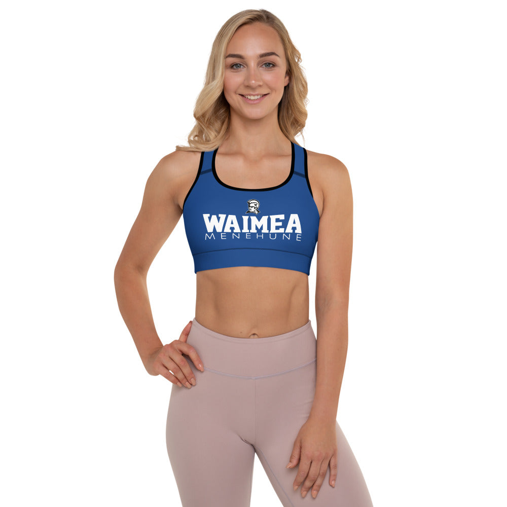 Waimea Menehune - Athletic Wear - Padded Sports Bra